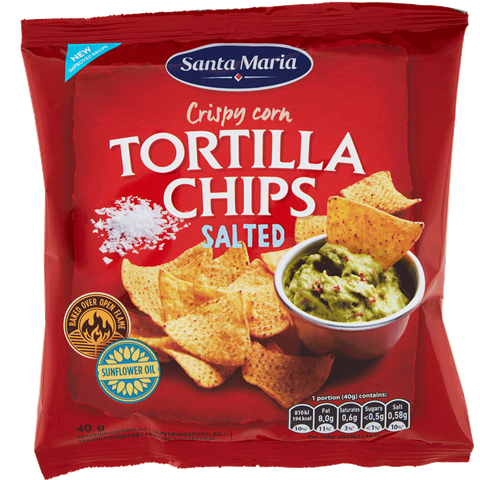 Tortilla Chips Salted 40 g
