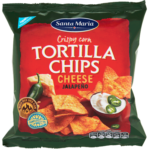 Tortilla chips Cheese & Jalapeño