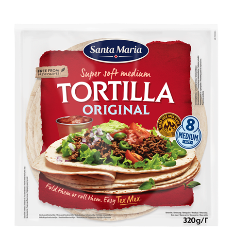 Tortilla Original Medium
