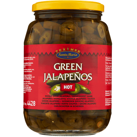Jalapeño Green Hot 900 g