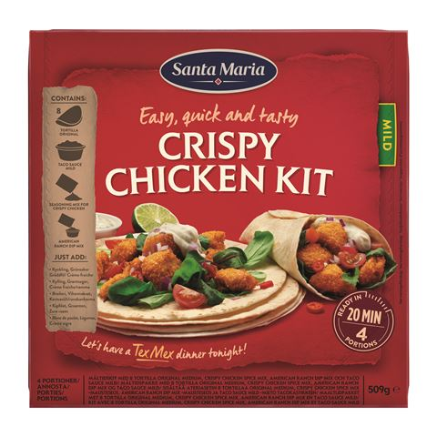 Crispy Chicken Dinner Kit