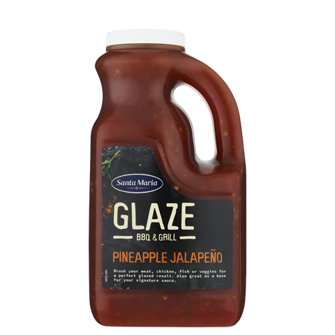 Sweet Pineapple Jalapeno Glaze