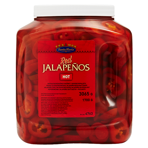 Red Jalapeño 3065 g