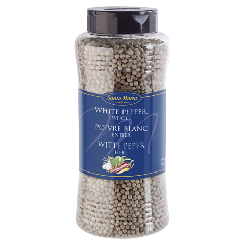 White pepper whole 640 g