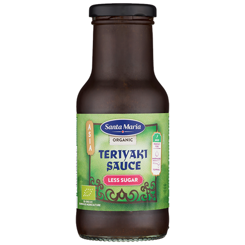 Organic Teriyaki Less Sugar