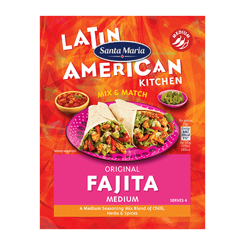 Medium Fajita Seasoning Mix