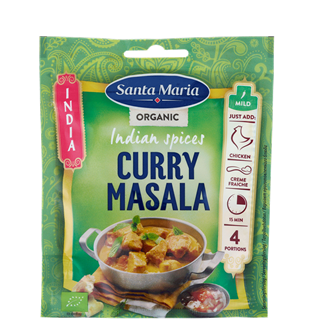 Indian Spices Curry Masala Organic