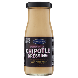 Flaska med Chipotledressing