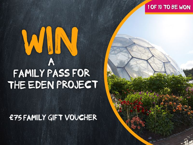 Win a family pass for The Eden Project