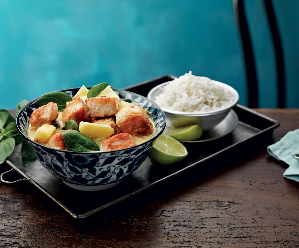 Pineapple Thai Chicken