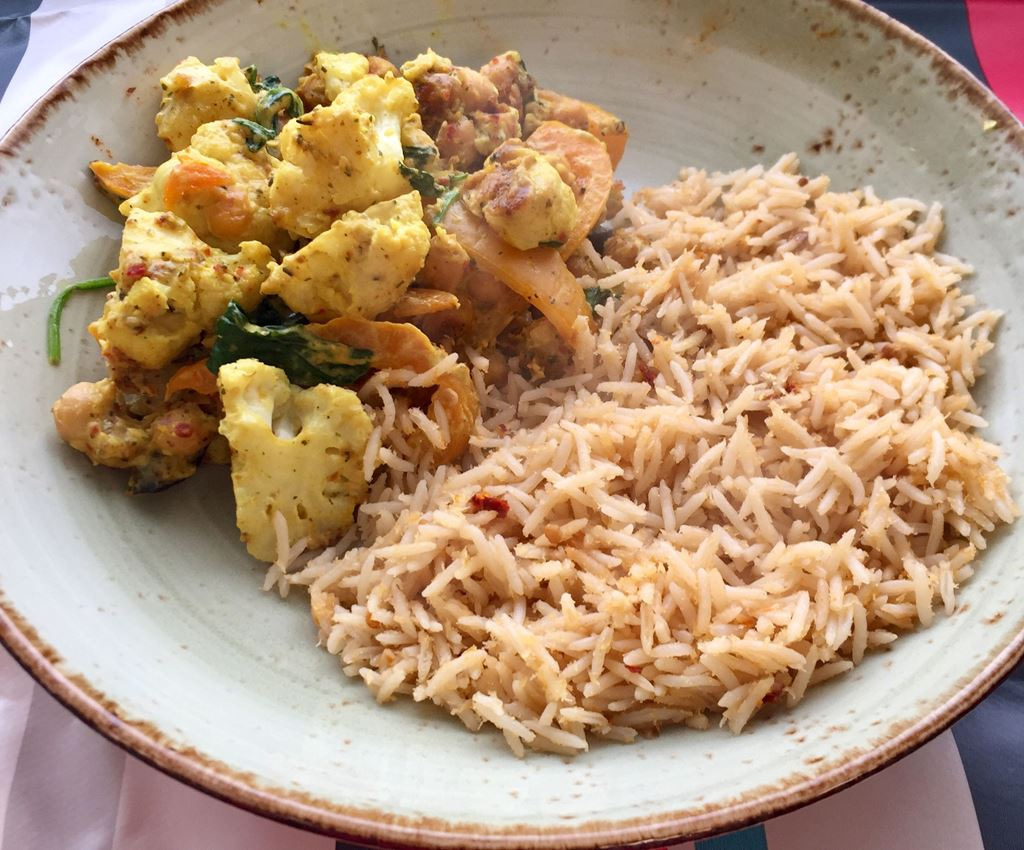 Caribbean Vegetable Curry