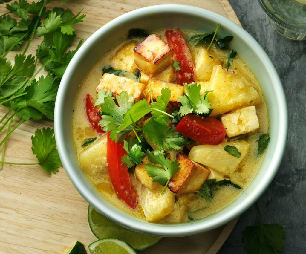 Pineapple Thai Tofu