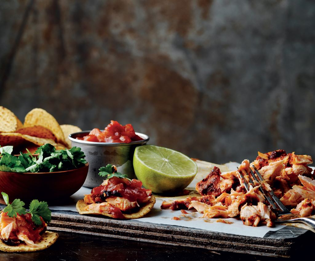 Fish Taco Pulled Salmon