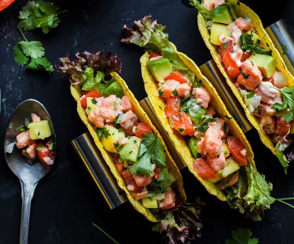 Fish Taco Ceviche med