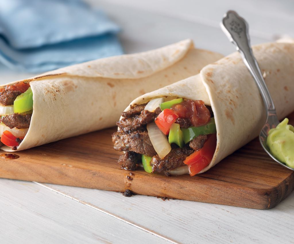 All in one Lamb Fajitas