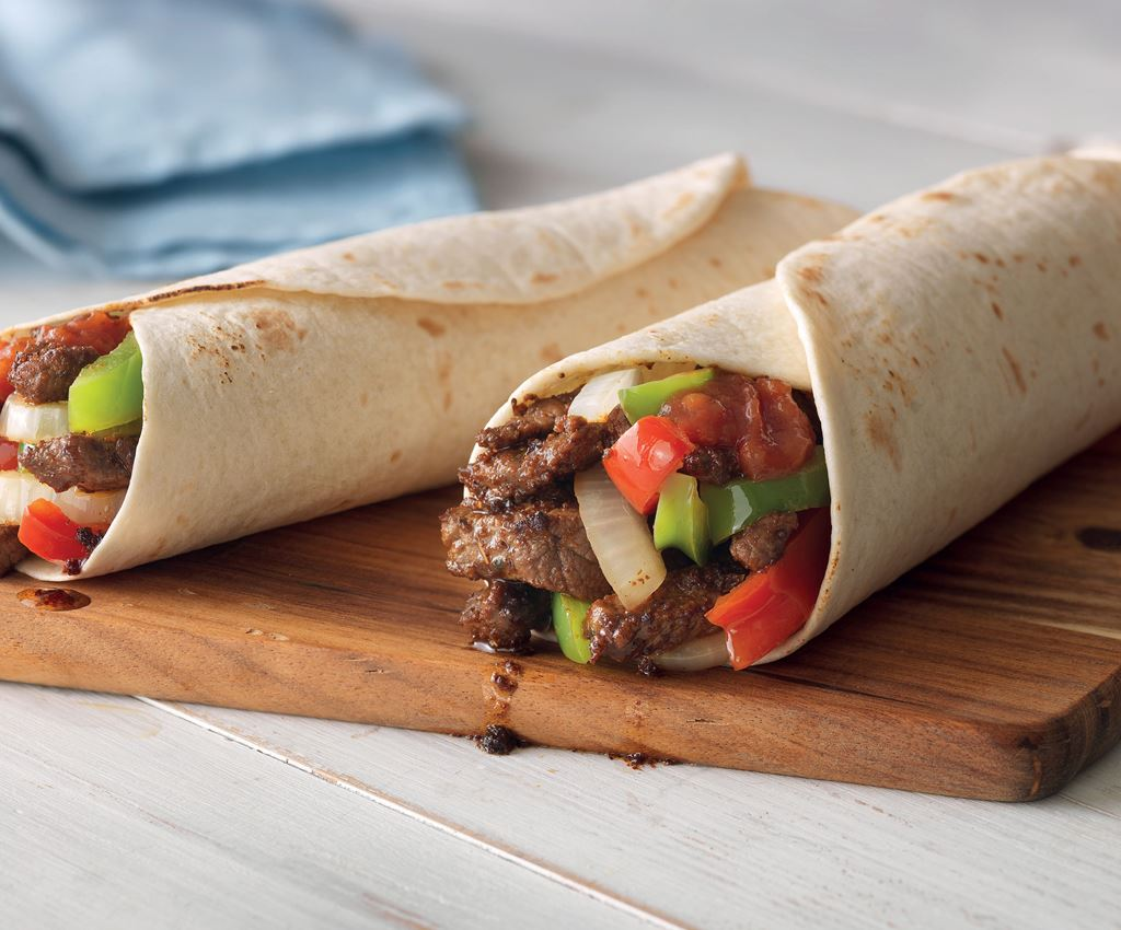 All in One Steak Fajitas
