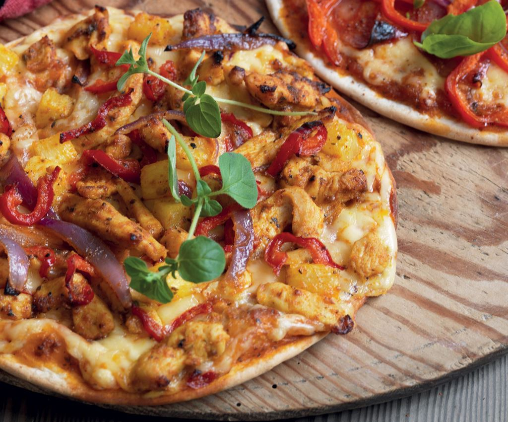 Pineapple Fajita Pizza