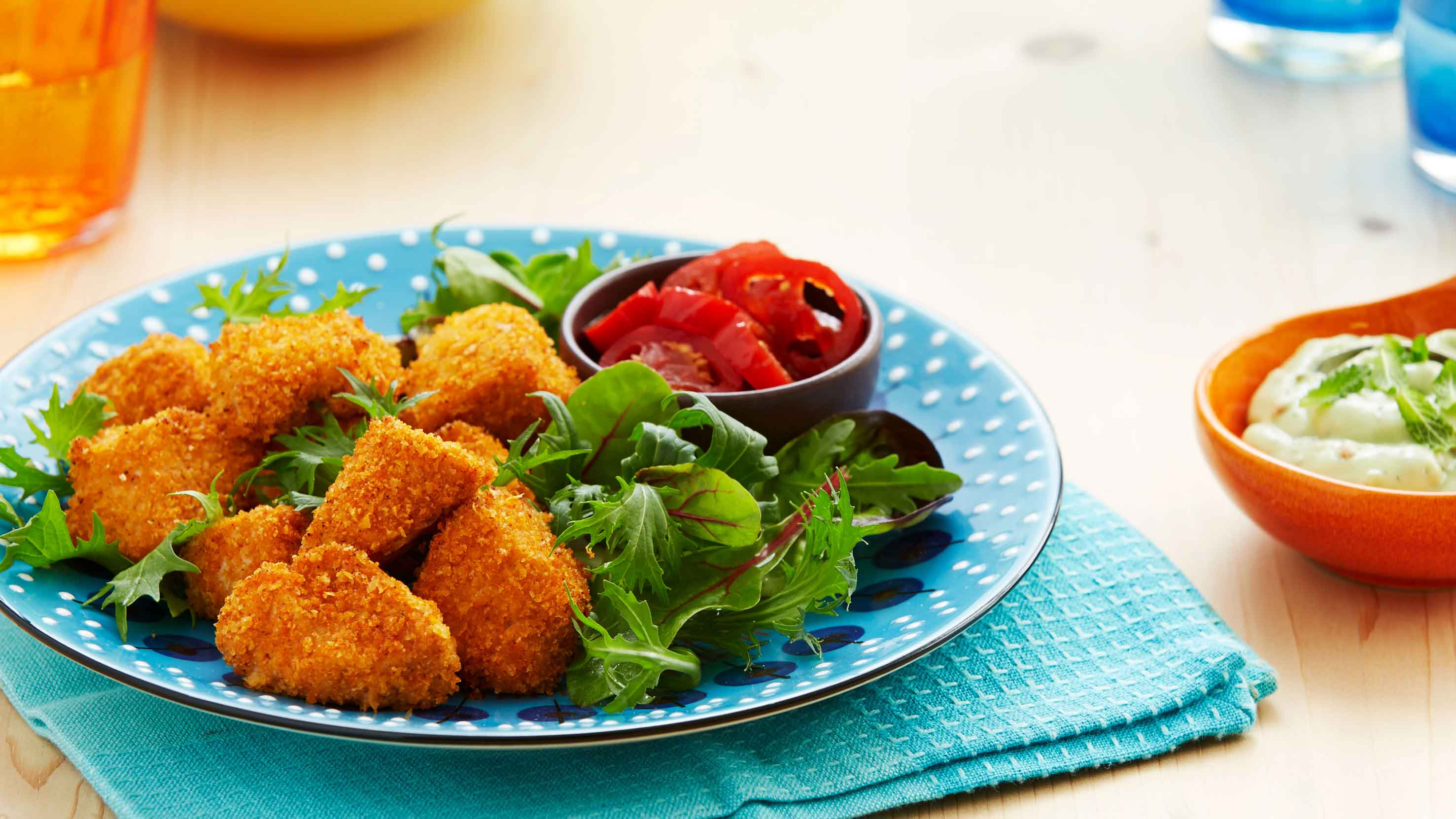 Colombian Crunchy Chicken Bites