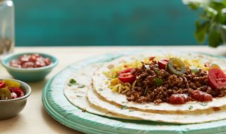 Mexican Minced Beef Tacos
