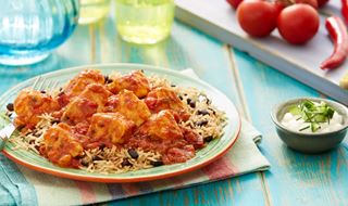 Cuban Chilli Sofrito Chicken with Three Bean Rice