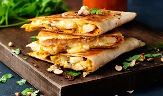 bbloemkool quesadillas