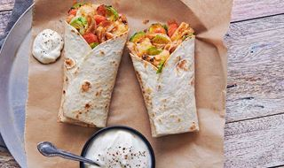Colombian Turkey & Vegetable Wraps