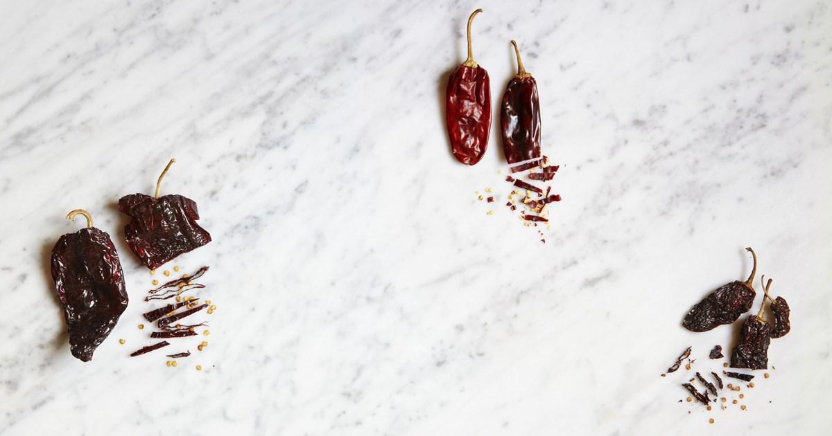 torkad chili recept