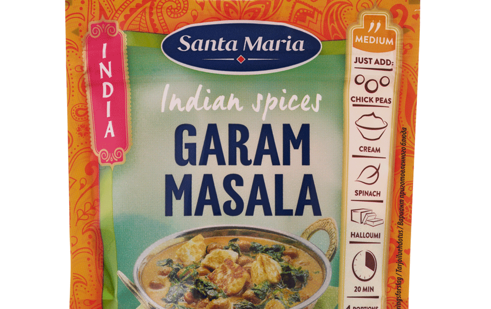 garam masala krydda recept